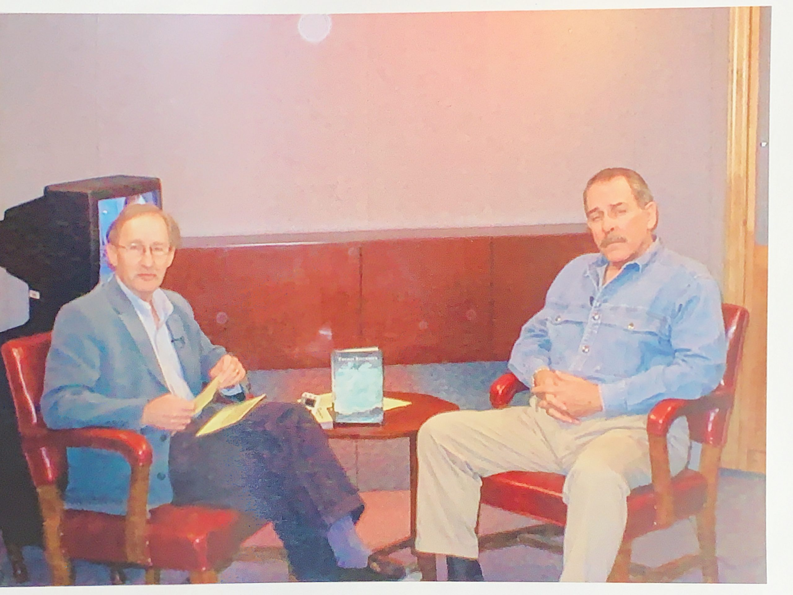 """John Steinbeck's son Thomas Steinbeck, author of """"Down to the Soundless Sea"""""""