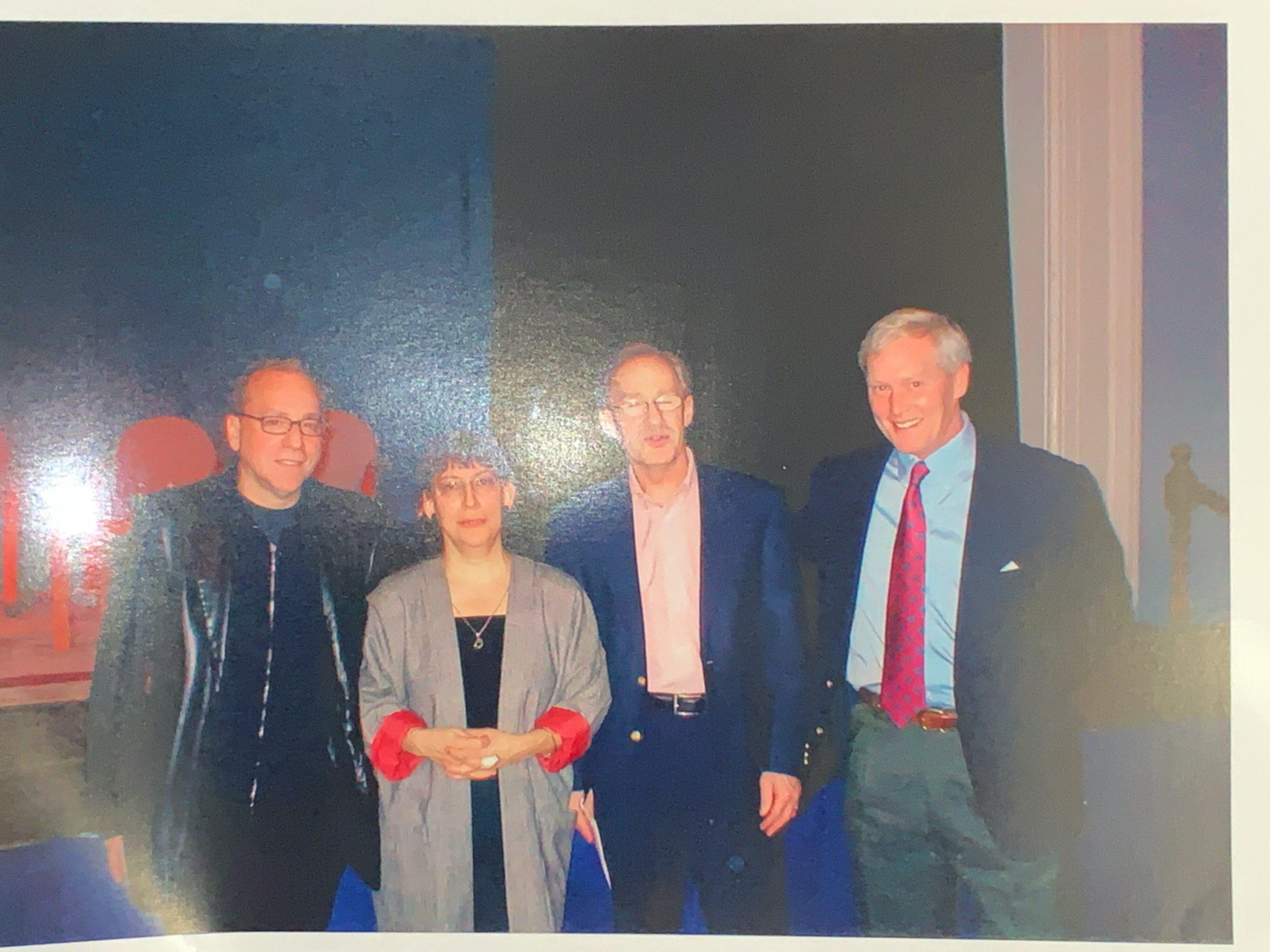 Jonathan Santlofer, SJ Rozan and Brian Haig