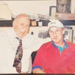 Carl Reiner with Larry Davidson