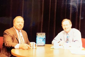 "Nelson DeMille appearing on ""Davidson and Company"""