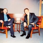 "Pete Hamill appearing on ""Davidson and Company"""