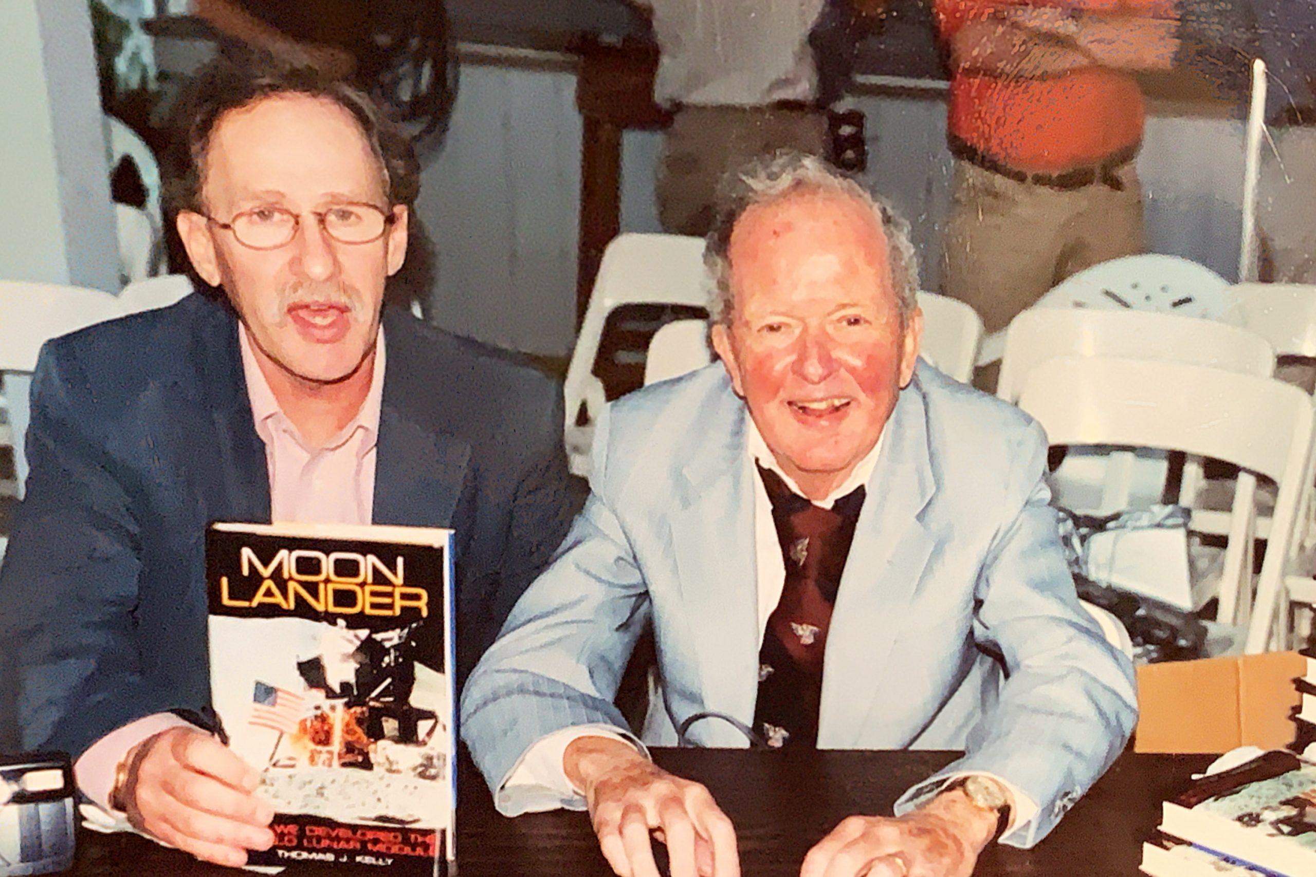 "Thomas J. Kelly, author of ""Moon Lander"""