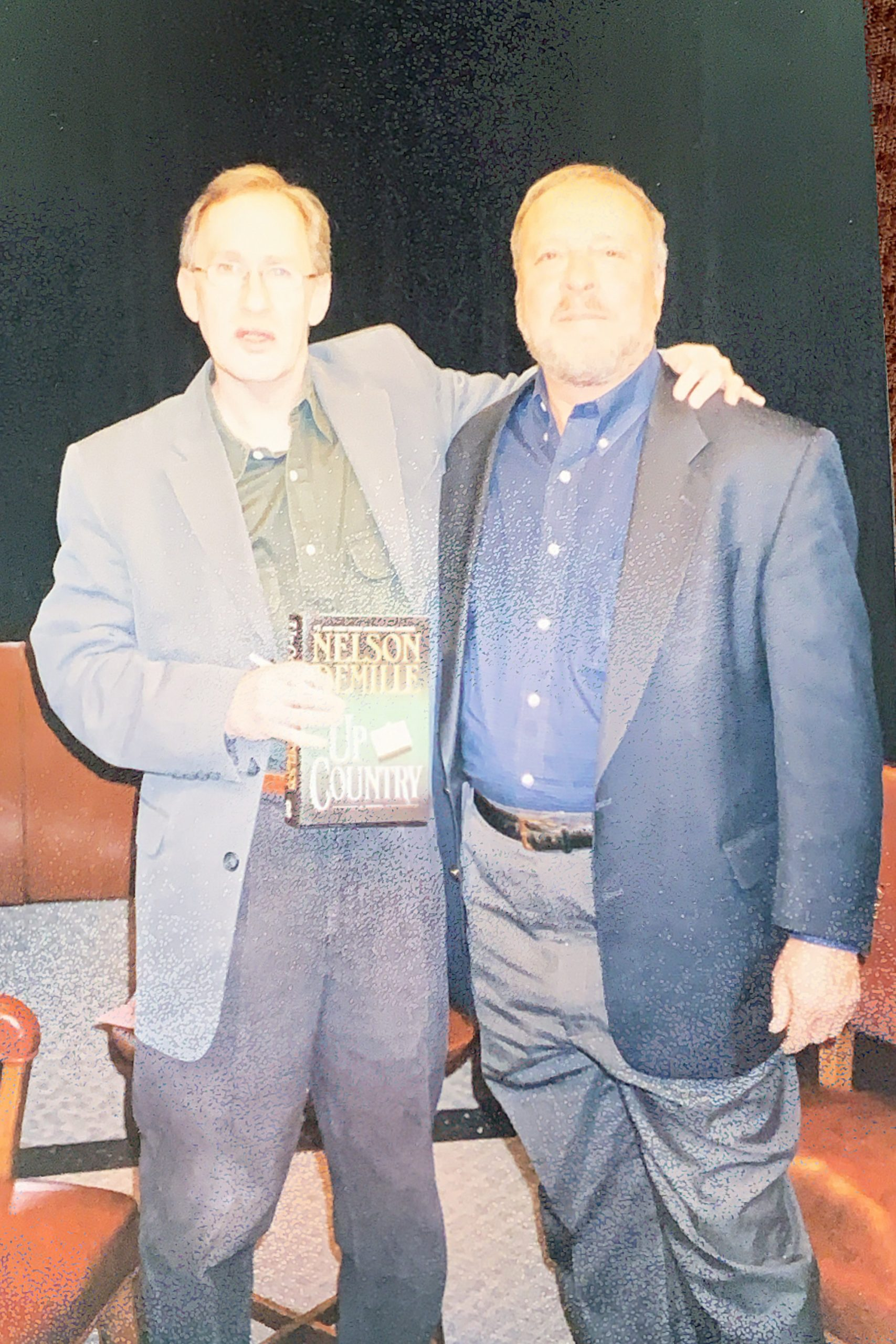 """Nelson DeMille, author of """"Up Country"""""""