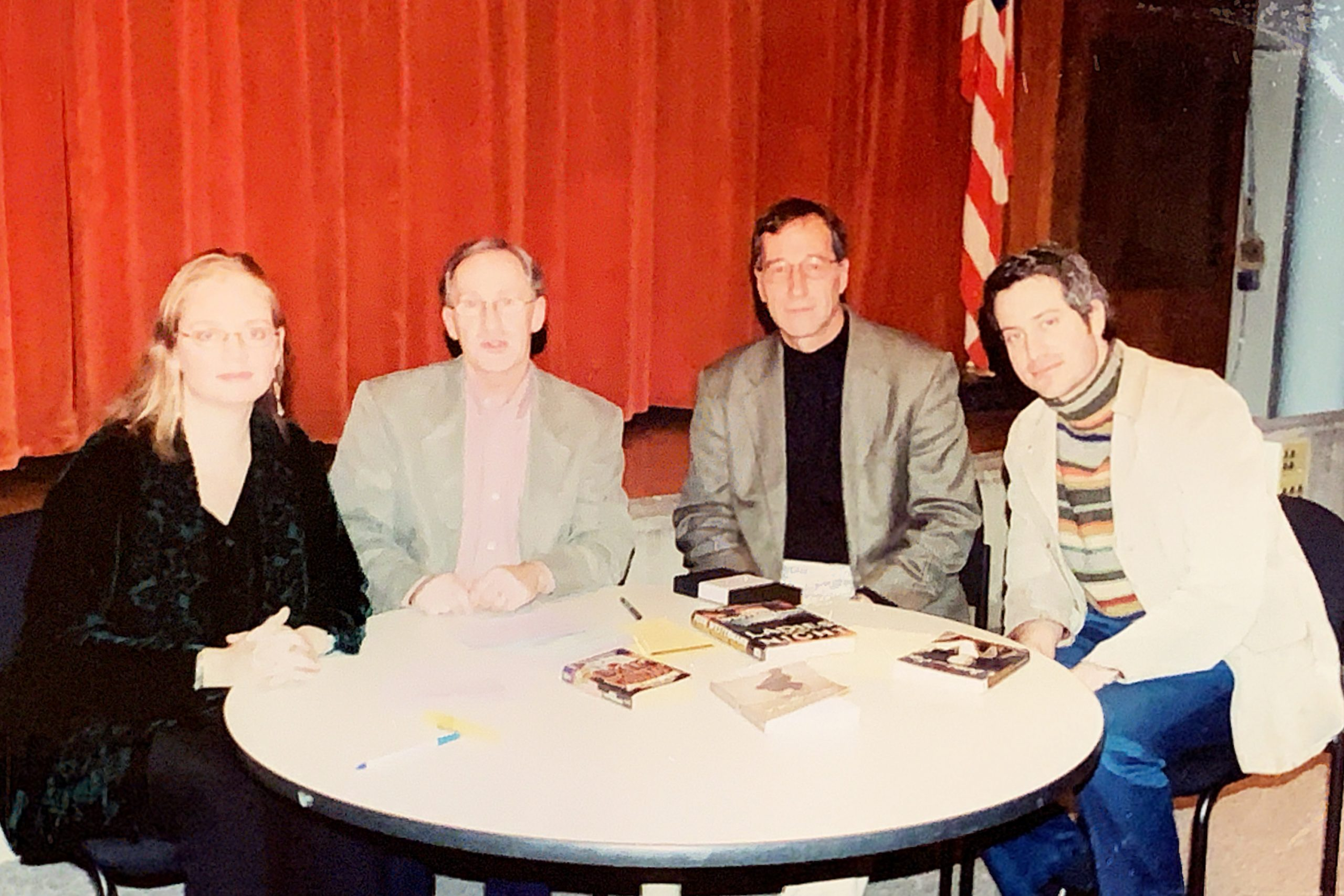 """Conversations From Main Street"": Regina McBride, Larry Davidson, John Westermann and Darin Strauss. Topic: Books to Screenplays"